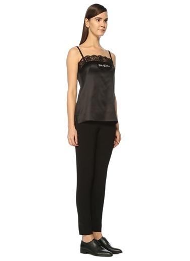 İnce Askılı Dantelli Bluz-Dolce&Gabbana